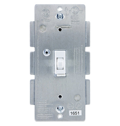 Jasco Z-Wave Plus In-Wall Smart Dimmer, White Toggle - 14322