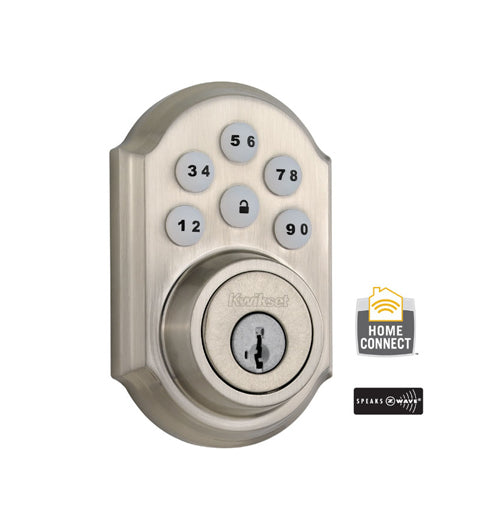 Z-Wave Smartcode Deadbolt - Satin Nickel - 99100-078