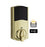 Z-Wave Motorized Deadbolt - Polished Brass - 99140-022