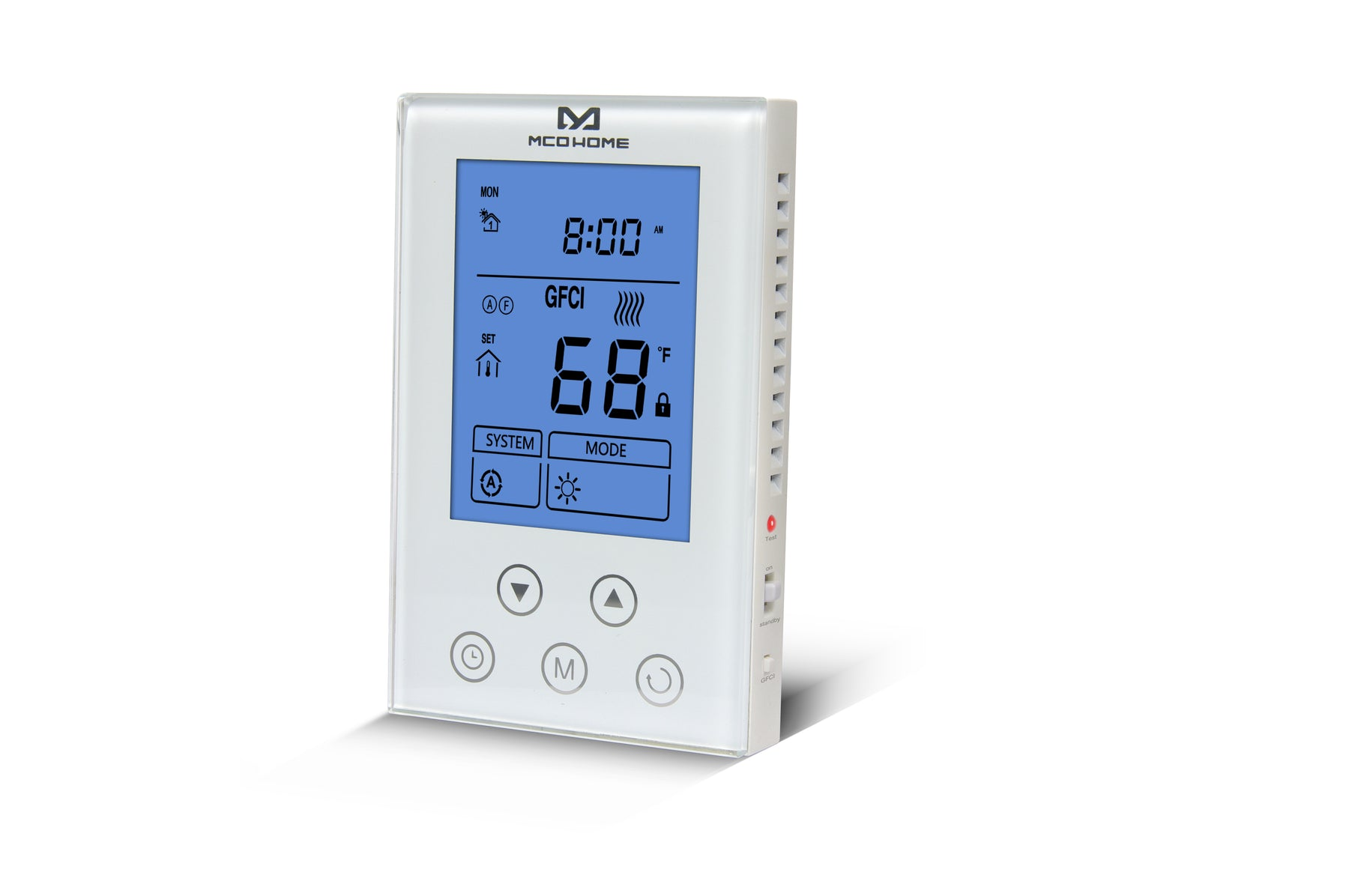 MCO Home Z-Wave Plus Thermostat for Electrical Heating Systems - MH4-US