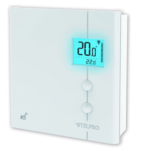 Stelpro KI Thermostat for Electric Baseboards and Convectors - STZW402WB