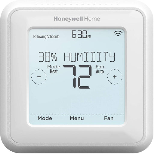 Z-Wave Honeywell T5 Smart Thermostat – 7 Day Programmable, Touchscreen Display