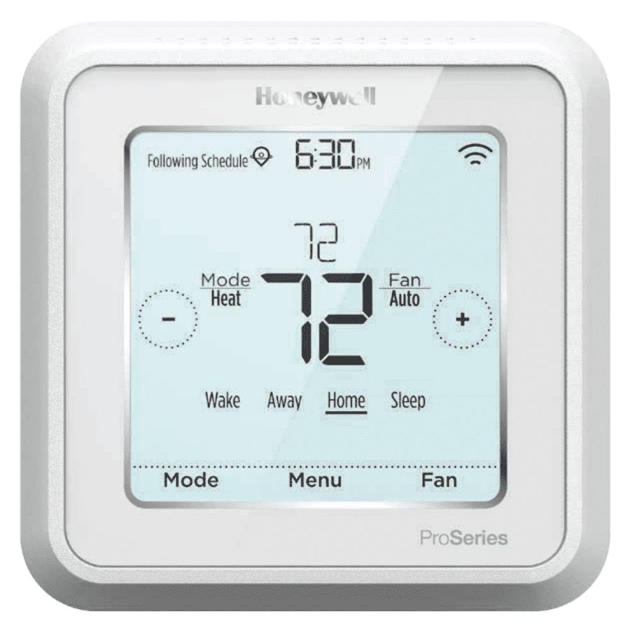 "Honeywell T6 Pro Z-Wave Plus Programmable Smart Thermostat, Battery Powered or ""C"" Hardwired - TH6320ZW2003"