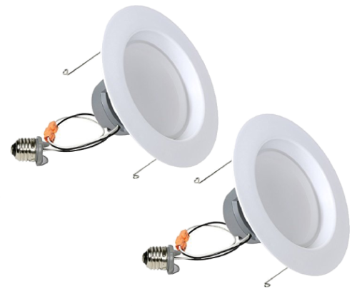 GOCONTROL Z-WAVE SMART LED RECESSED RETROFIT LIGHT KIT - 2-PACK - 0LB65R6Z-2