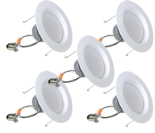 GOCONTROL Z-WAVE SMART LED RECESSED RETROFIT LIGHT KIT - 5-PACK - 0LB65R6Z-5