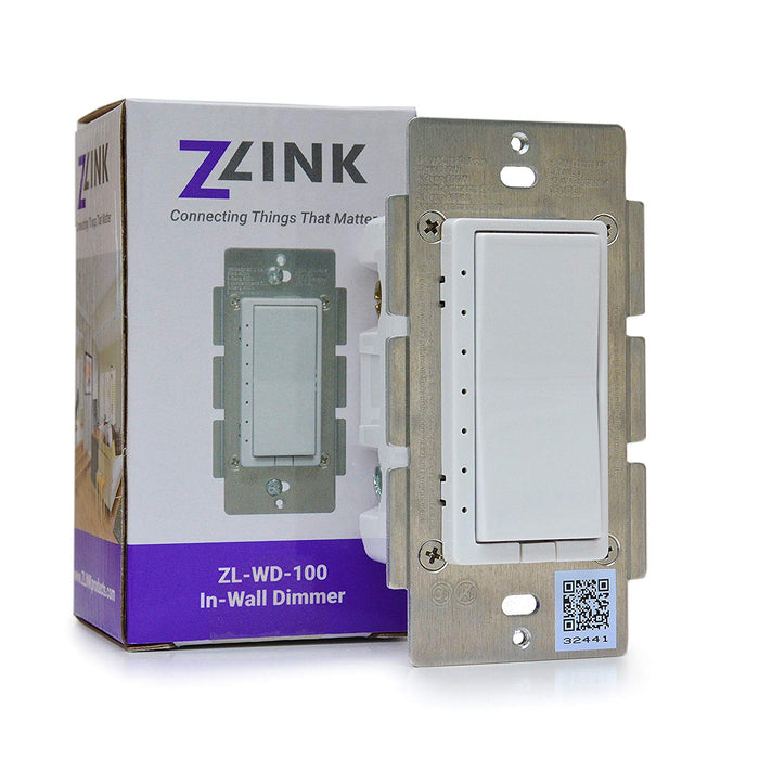 ZLINK Pro Kit with Ezlo Z-Wave Controller, ZLINK In-Wall Switch, and Dimmer - ZL-PROKIT