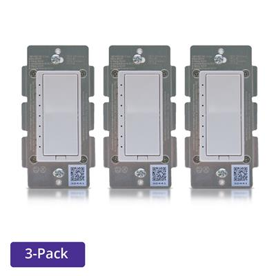 ZLINK Products In-Wall Dimmer Switch - 3 Pack - ZL-WD-100-3