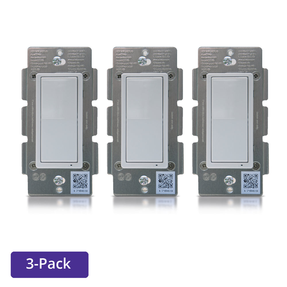 ZLINK Products In-Wall Switch - 3 Pack - ZL-WS-100-3
