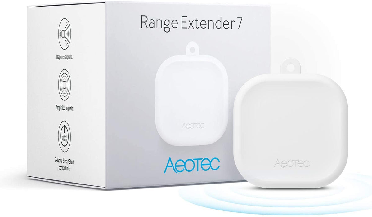 Aeotec Range Extender 7, Zwave Extender and Repeater, Z-Wave Plus 700 series, S2, Smart Start - ZW189