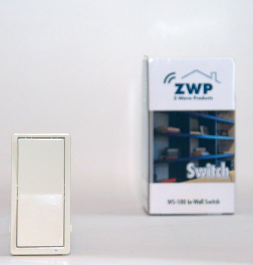 Light Almond Plate for WS-100 and WA-100 (Works with ZLINK WS-100) - ZWP-CK-AL