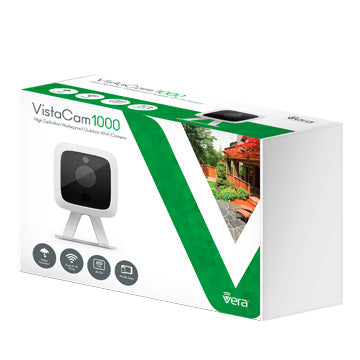 VistaCam 1000 Weatherproof Outdoor HD Camera - VistaCam1000