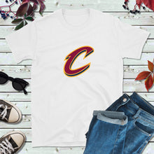 Load image into Gallery viewer, Cleveland Cavs C Shirt, Cavaliers T-Shirt, Cleveland Basketball Shirt
