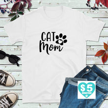 Load image into Gallery viewer, Cat Lover Shirt, Cat Rescue T-Shirt, Cat Mom Shirt