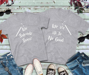Couples Shirts, We Solemnly Swear, We Are Up To No Good Shirts