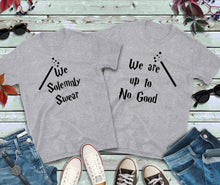 Load image into Gallery viewer, Couples Shirts, We Solemnly Swear, We Are Up To No Good Shirts