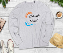 Load image into Gallery viewer, Catawba Island Long Sleeve Shirt, Catawba Island Ohio, Wave Shirt