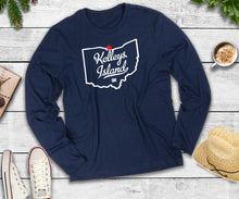 Load image into Gallery viewer, Kelley's Island Long Sleeve Shirt, Kelley's Island Ohio, Lake T-Shirt