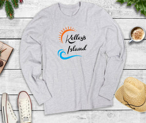 Marblehead Ohio, Long Sleeve Shirt, Marblehead Wave T-Shirt