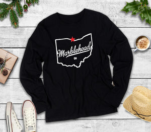 Marblehead Ohio, Long Sleeve Shirt, Marblehead Ohio T-Shirt