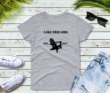 Load image into Gallery viewer, Lake Erie Girl T-Shirt, Lake Erie Chair Shirt, Lake Shirt