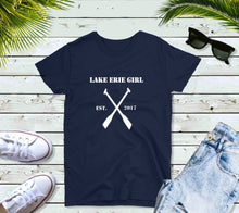 Load image into Gallery viewer, Lake Erie Girl T-Shirt, Lake Erie Oars Shirt, Lake Shirt