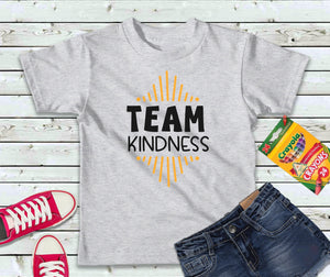 Team Kindness Shirt, Kindness T-Shirt, Kids Shirt - Lake Erie Goods