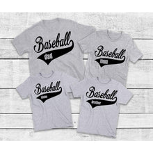 Load image into Gallery viewer, Baseball Shirts for Family, Family Matching Shirts