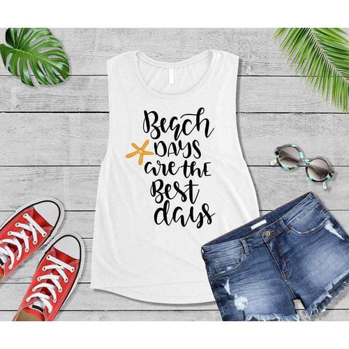 Beach Days are the Best Days, Beach Life T-Shirt, Beach Wear, Vacation Shirt