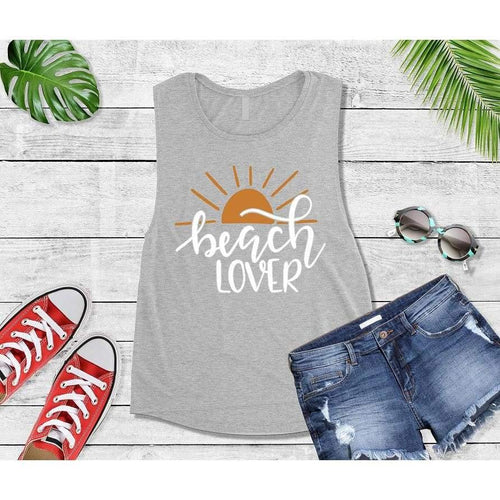 Beach Lover, Beach Life T-Shirt, Beach Wear, Vacation Shirt