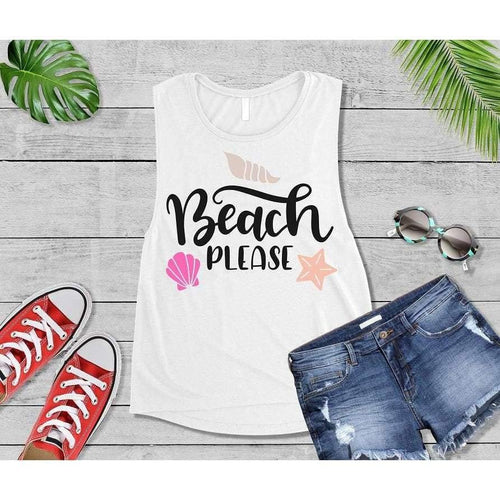 Beach Please, Beach Life T-Shirt, Beach Wear, Vacation Shirt