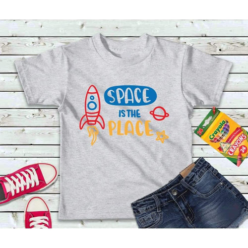Boys Shirt, Kids Shirt, Space is the Place