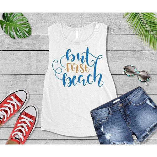 But First Beach, Beach Life T-Shirt, Beach Wear, Vacation Shirt