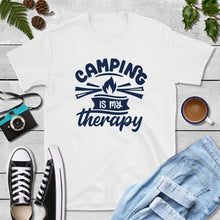 Load image into Gallery viewer, Camping is My Therapy, Camper Gifts, Camping Shirt