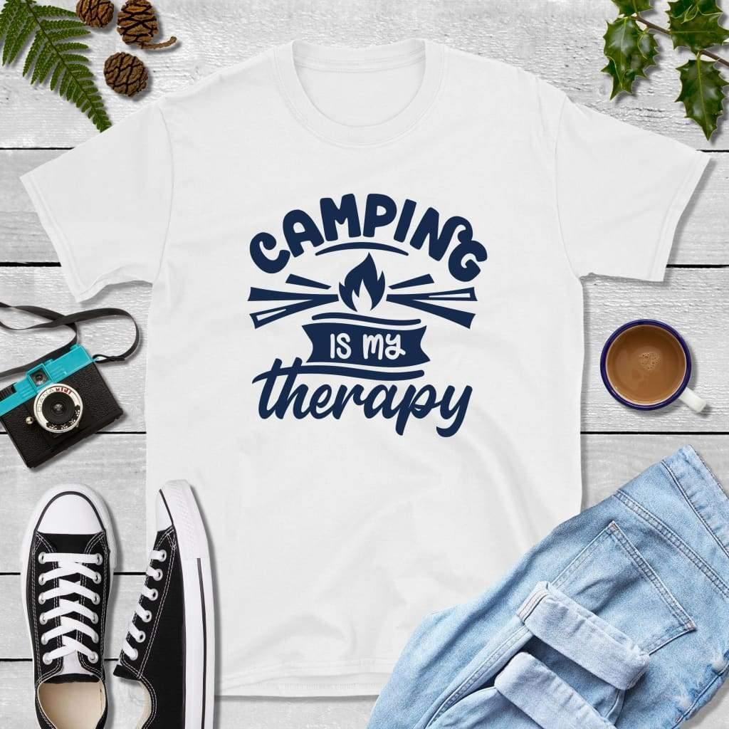 Camping is My Therapy, Camper Gifts, Camping Shirt