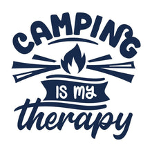 Load image into Gallery viewer, Camping is My Therapy Camper Gifts Camping Shirt