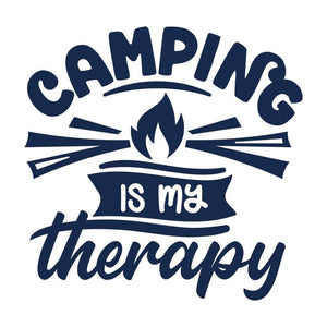 Camping is My Therapy Camper Gifts Camping Shirt