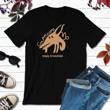 Load image into Gallery viewer, Capricorn T-Shirt, Star Sign Symbols, Astrology Sign T-Shirt, Simply Irresistible