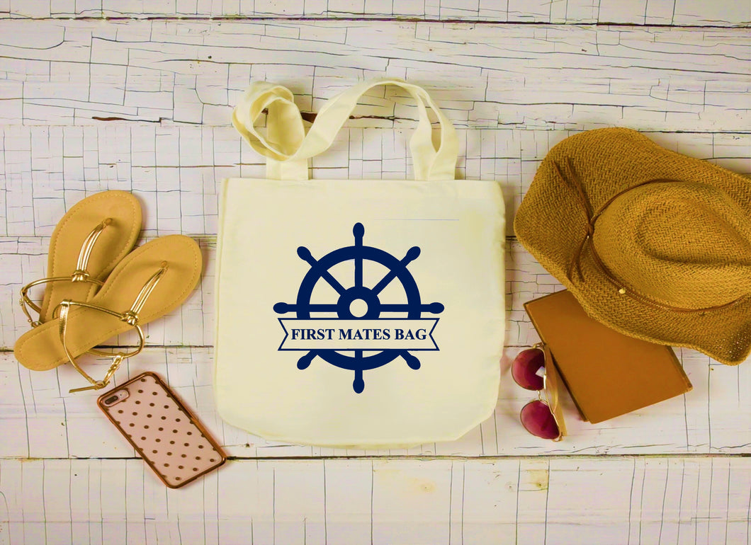Canvas Boat Bag, Large Tote Bag, First Mates Bag