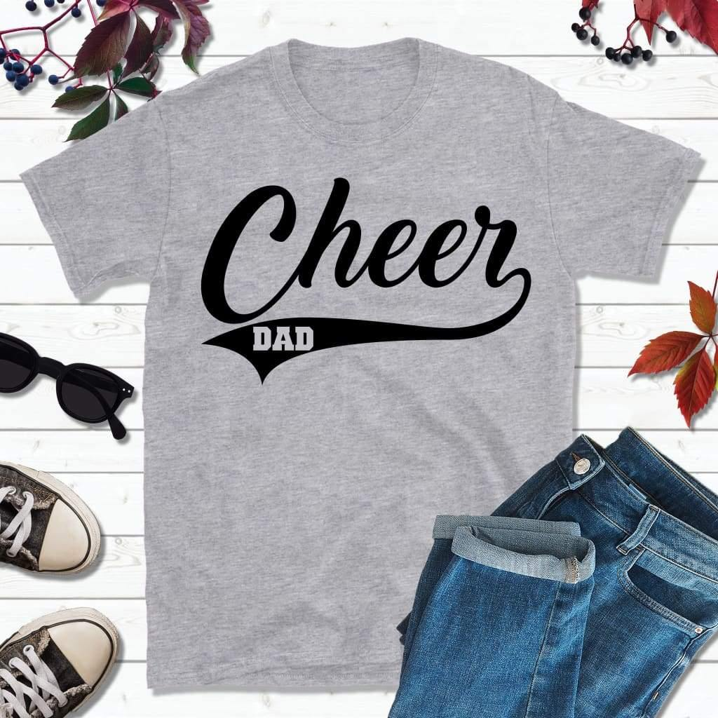 Cheer Dad Shirt, Gift for Dad, Dad Life Shirt
