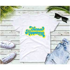 Choose Happiness, Vintage T-Shirt, Vintage Clothing