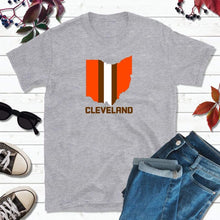 Load image into Gallery viewer, Cleveland Football Shirt, Browns T-Shirt, Football Cleveland