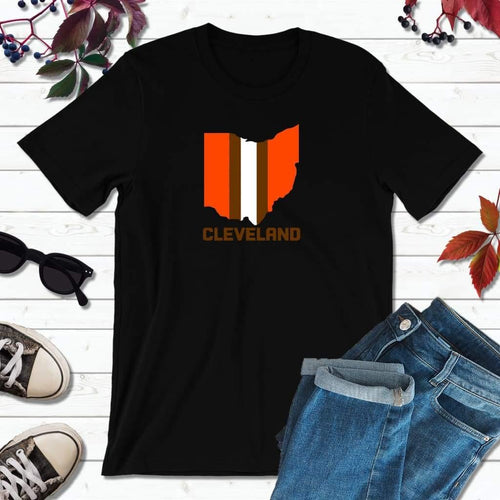 Cleveland Football Shirt, Browns T-Shirt, Football Cleveland