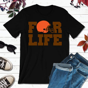 Cleveland Football Shirt Browns T-Shirt For Life