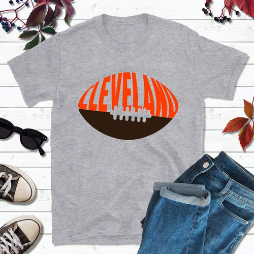 Cleveland Football Shirt, Browns T-Shirt, Cleveland Ohio