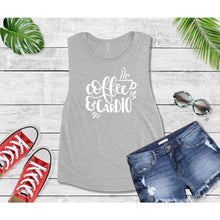 Load image into Gallery viewer, Coffee is My Cardio T-Shirt New Year's Resolution Shirt
