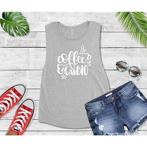 Coffee is My Cardio T-Shirt New Year's Resolution Shirt