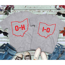 Load image into Gallery viewer, Couples Shirts Buckeyes, OH-IO Shirt, Ohio Shirt