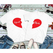 Load image into Gallery viewer, Couples Shirts, Matching Shirts, Soul Mate Shirts