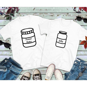 Couples Shirts Peanut Butter and Jelly Shirts