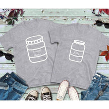 Load image into Gallery viewer, Couples Shirts Peanut Butter and Jelly Shirts